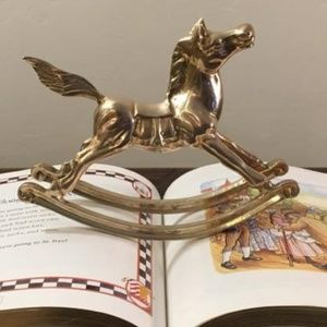 Other - Vintage Brass Horse